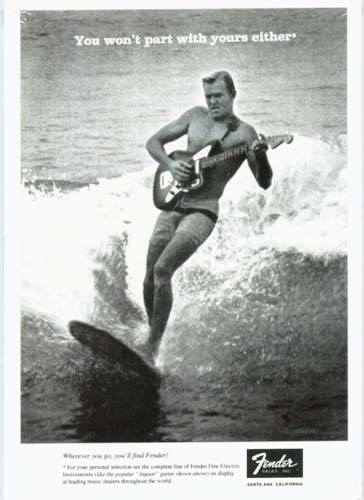 Dick Dale Fender Surfing